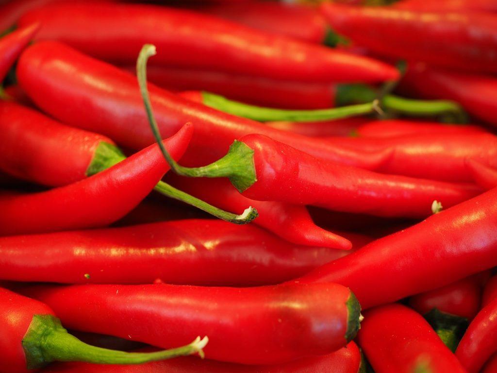 chili, red, sharp