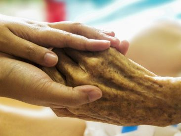 hospice, hand in hand, caring